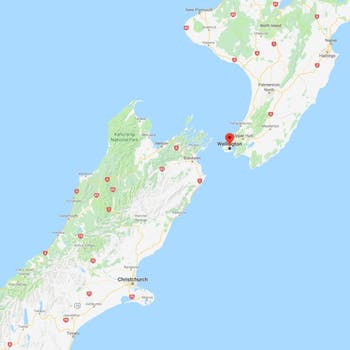 Road Map North Island New Zealand.Discover Wellington North Island Haka Tours New Zealand