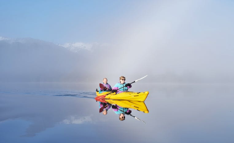 Glacier Kayaking in Franz Josef | South Island Activities | Haka