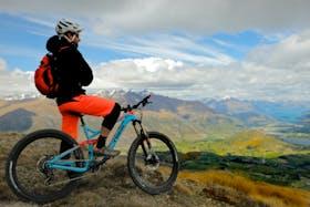 Heli Mountain Biking