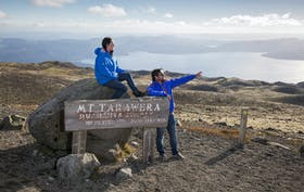 Mt Tarawera Crater Hike