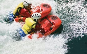 River Sledging