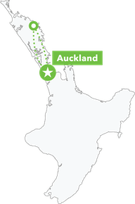 Bay of Islands Winterless North Tour map