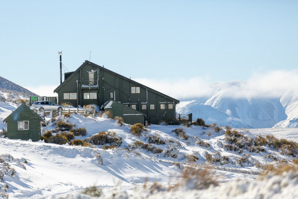 Two Nights at an Alpine Lodge at Porters
