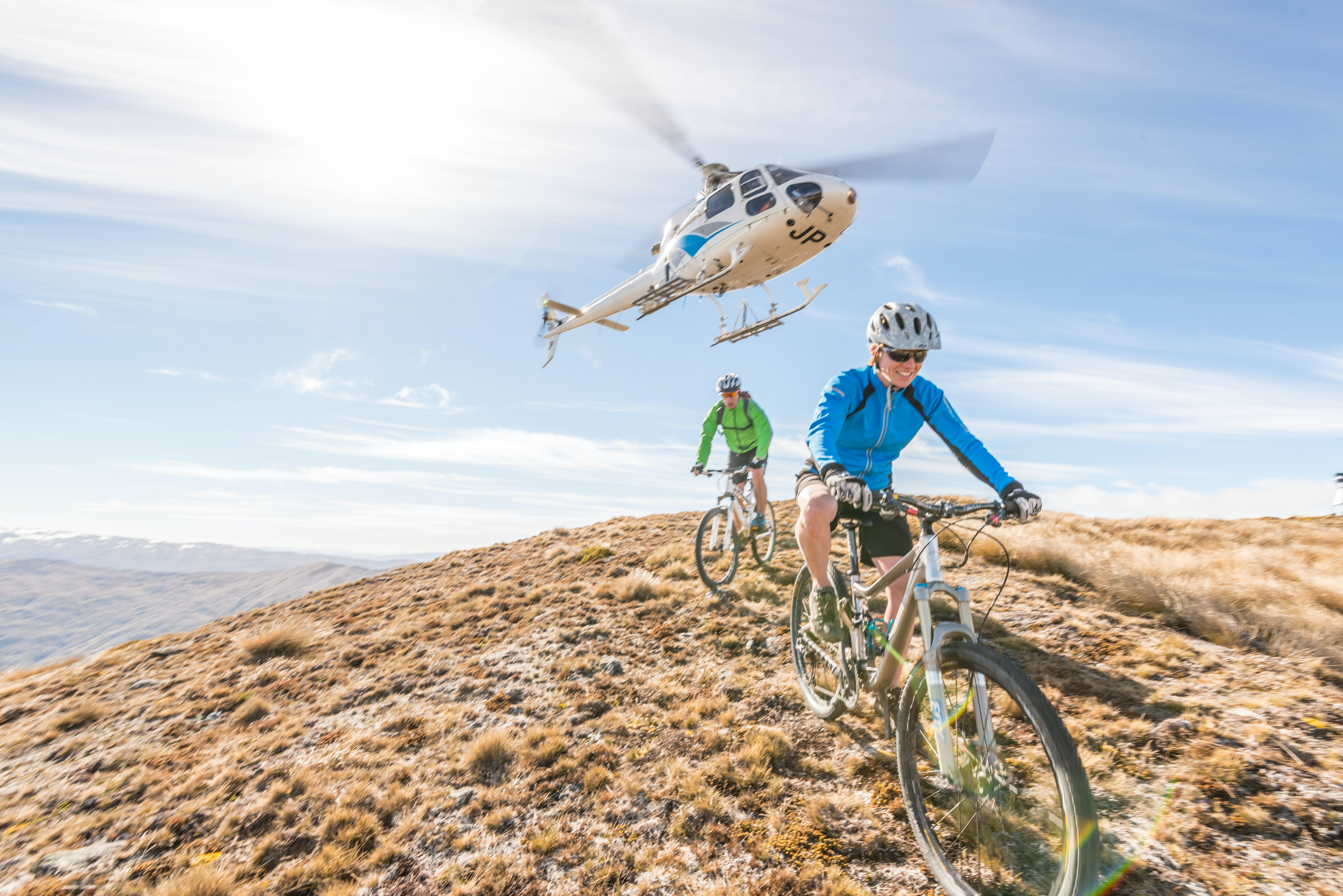 Epic Heli-biking Adventure Add-On