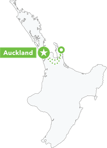 The Whitianga Flyer map